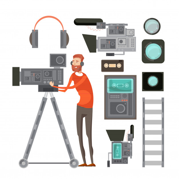 Video Production company team