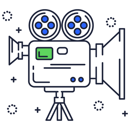 Video camera toronto icon